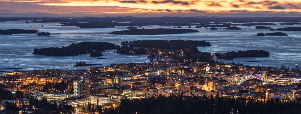 Kuopio by night