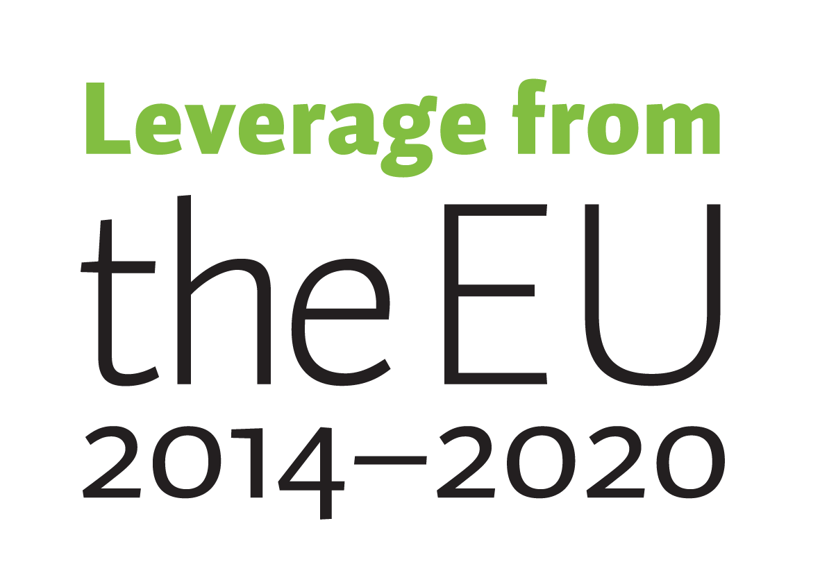 Leverage form the EU 2014-2020 logo